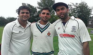 Left to right-Rohan Baminiya, Sikander Randhawa and Subhash Satyam.