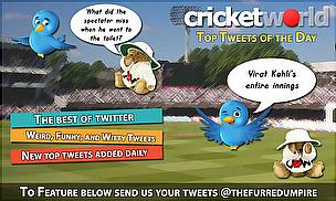 Tweet of the Day - Better late than never for England