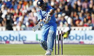 This one went for four, but MS Dhoni couldn't quite get his team home