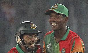 Al-Amin Hossain and Mushfiqur Rahim