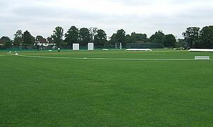 General shot of a cricket ground