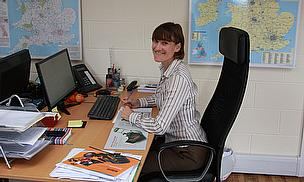 Stephanie Ambler has already settled in to her new role at Dennis and SISIS