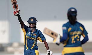 Chamari Atapattu celebrates a half-century