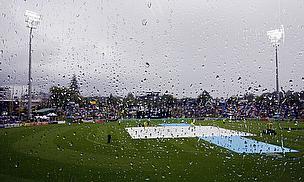 A wet Seddon Park