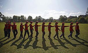 Gallery: Blind Cricket In Nepal