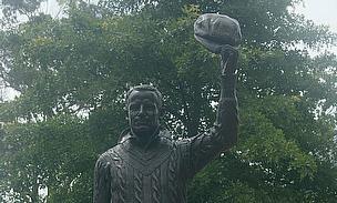 Sir Don Bradman statue