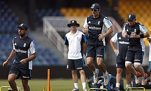 England train ahead of the fourth ODI against Sri Lanka
