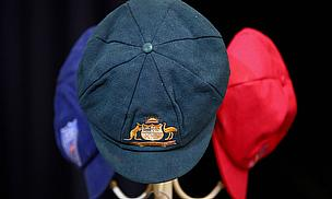 Phillip Hughes' caps displayed at his funeral service
