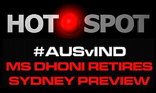 Hot Spot - On MS Dhoni's Retirement