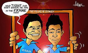 Cartoon: Raina, Rahul 'In The Frame'