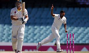 Ravichandran Ashwin wheels away