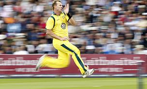 Brett Lee in full flow