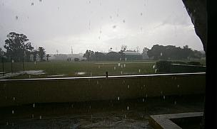 Rain in Malta put paid to this week's fixture