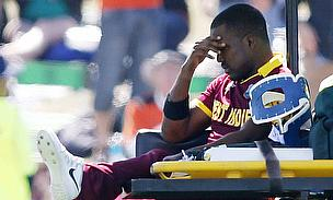 Darren Bravo was forced to retire hurt during the match against Pakistan