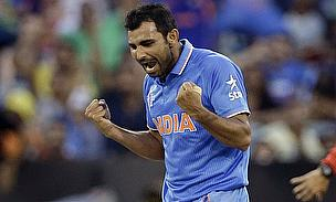 Shami has been ruled out of the UAE game on Saturday after suffering a knee injury.