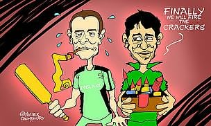 Cartoon: Pakistan Beat Ireland To Reach Quarter-Finals