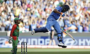 Follow Through - India Steam-Roll Bangladesh To Enter Semis