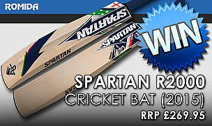 Win A Spartan R2000 Cricket Bat