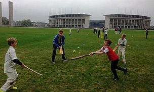 Twenty20 Cricket Company at a coaching course in Berlin in 2014
