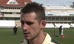 Alex Hales talks to Cricket World