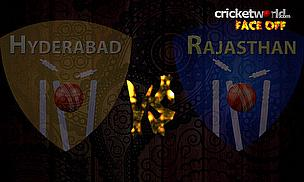 Face-Off - Hyderabad v Rajasthan