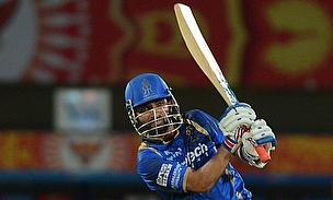 Ajinkya Rahane scored a brilliant half-century as Rajasthan Royals defeated Sunrisers Hyderabad by six wickets at Visakhapatnam.