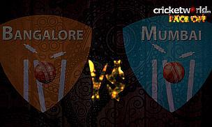 IPL8 Face-Off - Bangalore v Mumbai - Game 16