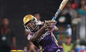 Andre Russell scored a 36-ball 66 to help Kolkata Knight Riders chase 156 against Kings XI Punjab in Pune.