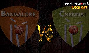IPL 8 Face-Off - Bangalore v Chennai - Game 20