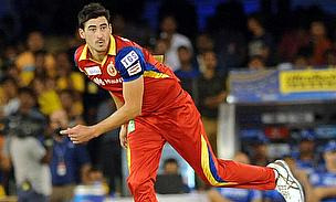 Mitchell Starc makes an impact in the IPL straightaway after registering figures of 3-22 helping Royal Challengers Bangalore to a nine wicket win agai