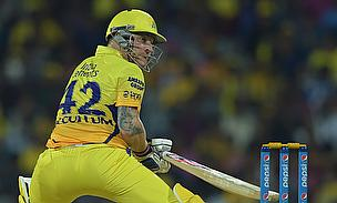 Brendon McCullum was at his attacking best scoring a 44-ball 66 as Chennai Super Kings demolished Kings XI Punjab by 97 runs.