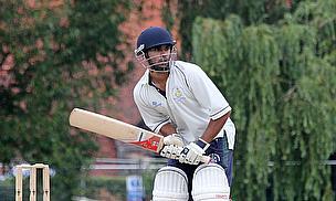 Kushal Patel scored a fine century but it wasn't enough for Bessborough CC to progress