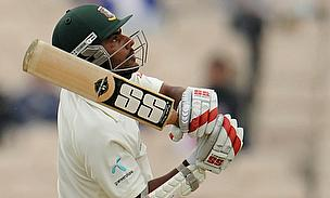 Imrul Kayes scored 51 as Bangladesh ended day one on 236 for four against Pakistan in Khulna.