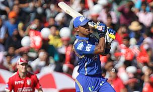 Lendl Simmons once again smashed a superb half-century as Mumbai Indians defeated Kings XI Punjab by 23 runs.