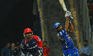 Ambati Rayudu scored an unbeaten 49 to help Mumbai Indians chase 153 against Delhi Daredevils at the Wankhede Stadium.