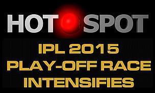 Hot Spot - IPL 2015 Play-Off Race Intensifies - Cricket World TV