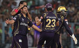 Piyush Chawla registered figures of 4-32 as Kolkata Knight Riders defeated Delhi Daredevils by 13 runs at the Eden Gardens.