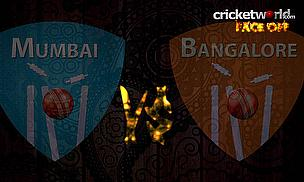 IPL8 Face-Off - Mumbai v Bangalore - Game 46