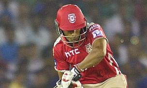 Wriddhiman Saha gave Kings XI Punjab a blistering start with a knock of 31 from just 12 deliveries against Royal Challengers Bangalore.