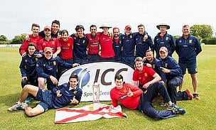 Jersey crowned as Pepsi ICC Europe Division 1 winners.