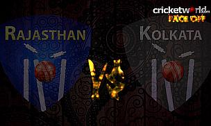 IPL8 Face-Off - Rajasthan v Kolkata - Game 54