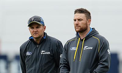 There is much to ponder for Mike Hesson (left) and Brendon McCullum