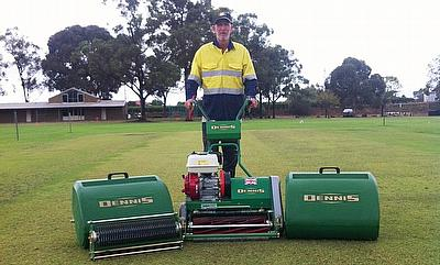 Graeme 'Scooter' Wicks, managing director of Total Pitch Care in Perth, Australia says that the Dennis FT510 is the best machine he's used for prepari