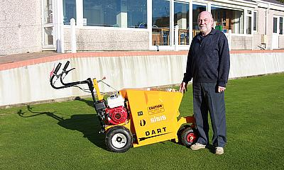 Liskeard Bowling Club have recently purchased a SISIS Dart. and greenkeeper Derek Turner has no hesitation in recommending it to others