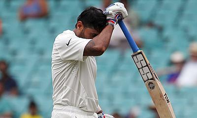 Murali Vijay fined 25% match fee for violating ICC's logo regulations