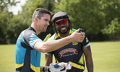 Kevin Pietersen, Chris Gayle go berserk with Drone Challenge
