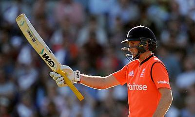 Joe Root scored a match-winning 68 off 46 deliveries as England defeated New Zealand by 56 runs at Old Trafford.