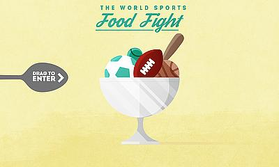 Interact With 'The World Sports Food Fight'