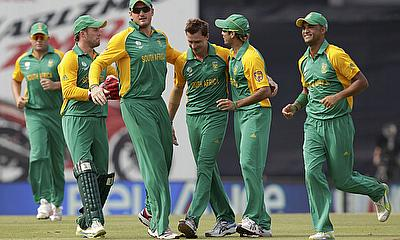 South Africa in action in Bangladesh