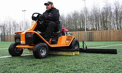 The recent purchase of a SISIS Brush-Pro ride-on brushing system and SISIS SSS1000 towed rotary brush sweeper has helped to keep its sporting faciliti